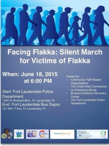 Thursday - June 18 - Silent March - Fort Lauderdale